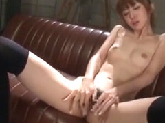 Crazy Japanese girl Yui Hatano in Exotic Stockings/Pansuto, Hairy JAV clip