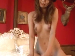 Horny Japanese chick Akina in Incredible Lingerie, POV JAV clip