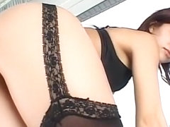 Amazing Japanese chick in Incredible Lingerie, MILFs JAV scene