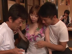 Crazy Japanese chick Minami Kitagawa in Amazing JAV uncensored Group Sex movie