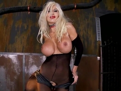 Horny Puma Swede plays with her wet pussy