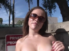 Fabulous pornstar in incredible outdoor, striptease sex movie
