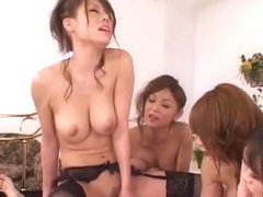 Incredible Japanese chick in Exotic Group Sex, Rimming JAV video