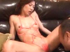 Best Japanese slut Miki Horiuchi in Crazy Cunnilingus, Fishnet JAV video