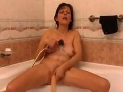 Vivian is masturbating here so hard