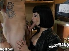 Burning Girl Asphyxia Noir High Heels Fetish Fucking