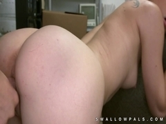 Dakota Skye petite stunner backroom sex