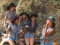 Strap-On Cowgirls