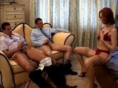 Anal wench Vivienne La Roche in Uncommon double penetration.. Jonathan23
