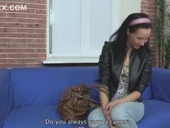 Horny pornstar in best creampie, european sex clip