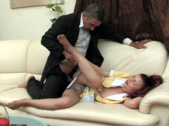 HornyOldGents Clip: Afina B and Frank