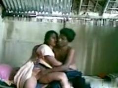 cute indian couple fucking in a shack.avi