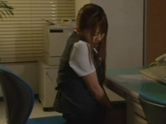 Office Girl Riona Minami Fucked Rough By The Guard