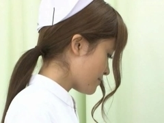 Nurses Erika Kashiwagi And Her Friend Creampied By A Patient