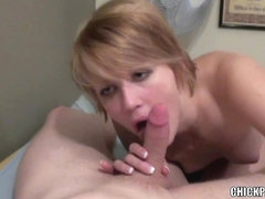 Cute coed Eden Foster receives stuffed with a inflexible wang