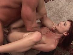 Exotic pornstar in Incredible Redhead, Facial porn movie