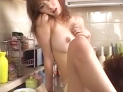Exotic Japanese chick Aki Katase in Horny Dildos/Toys, Public JAV movie