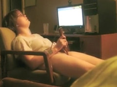 Hidden cam caught her incredible orgasm