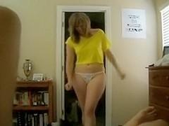 So hot ex girlfriend on great POV video sex tape