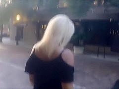 Public cumwalk with help from Xhamster member
