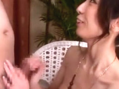 Best Japanese girl in Horny Handjobs, Blowjob/Fera JAV clip