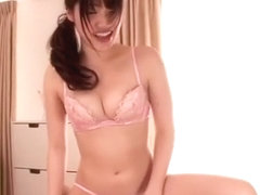 Exotic Japanese slut in Amazing Doggy Style, Lingerie JAV movie