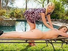 Annika Albrite, Dani Daniels in My New Trick Scene