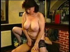 Large tit aged bar joy