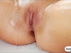 Stunning babe Jessie Jazz erotic sex