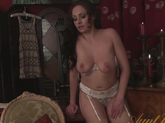 Incredible pornstar in Best Masturbation, Redhead adult movie