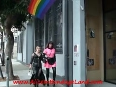 PUBLIC Sissy Servitude Shopping Humiliation FemDom Female-Dominator