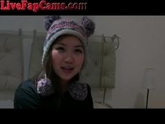 Cute Asian Webcam Girl DP With Toys