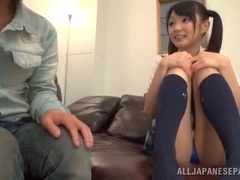 Japanese Schoolgirl Gets To Fuck An Older Man