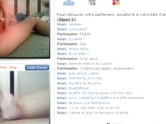 French girl gets a rush, when her hot body makes guys cum online !!!