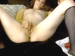 Nip pierced webcam gal pussy fingering