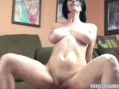 Aged doxy Melissa Swallows acquires her moist cum-hole screwed