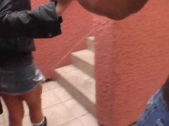 Wild Sadie West swallows a huge black pecker and eats cum