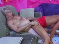 Horny pornstar Angelina Valentine in hottest cunnilingus, big ass adult scene