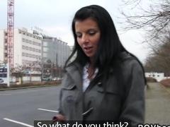 Attractive amateur bangs in public pov babe euro