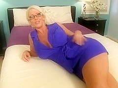 Aunt Shirley Made Me Cum