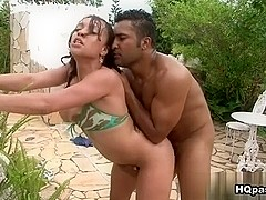 Loupan & Roberta Carioca in Tight curves Movie