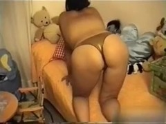 I am fucking a toy in my lusty private milf video
