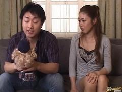 Misa Tachibana Asian mature chick has hot sex