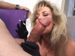 Mother I'd Like To Fuck whore takes sucks a boy off