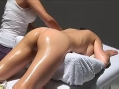Hot breast massage videos with horny asian masturbation