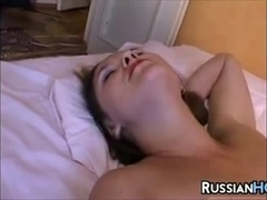 Dirty Russian Whore In Lingerie
