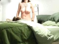 slut rides my cock