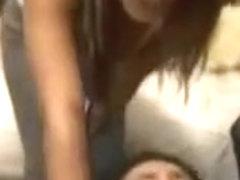 Slutty Girl on Campus Starts Orgy