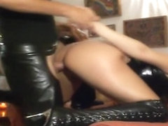 I'm fucked in doggy style in my lusty sextape amateur