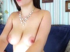 ManuellaZ Shows pierced nipples